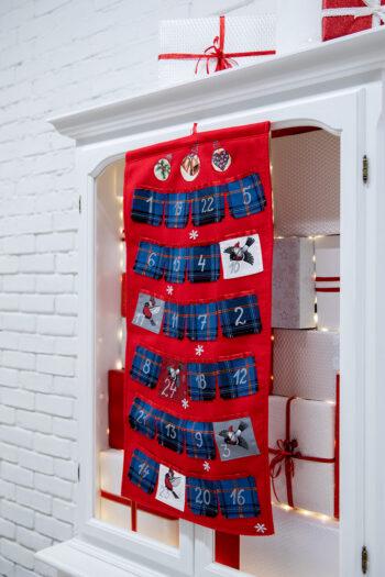 Eesti tartan - jõulukalender