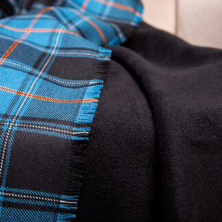 Estonian tartan plaid blanket