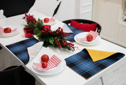 Estonian Tartan Table mat