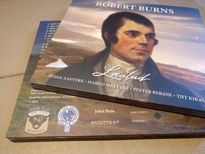 Burns Songs CD
