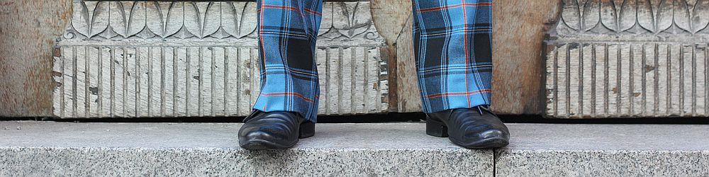 Picture of tartan trews
